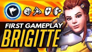 Overwatch | BRIGITTE ABILITIES - NEW ABILITIES & ULTIMATE (Support Hero)