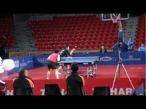 WANG JIAN JUN - ZHENG JIA Champions League 2011-2012 VILLETTE CHARLEROI - ZAGREB