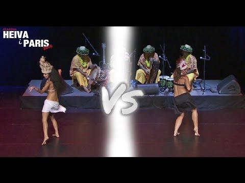 Finale Ori Vahine solo 1rst Duel - HEIVA i PARIS 2016 - Tahia vs Naja