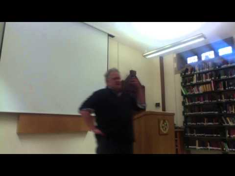 Why Is Something You?  Metaphysics Lecture at Oxford University