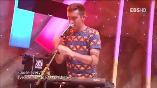 Скачать Twenty One Pilots Time To Say Goodbye Live EBS Space 5 October 2012