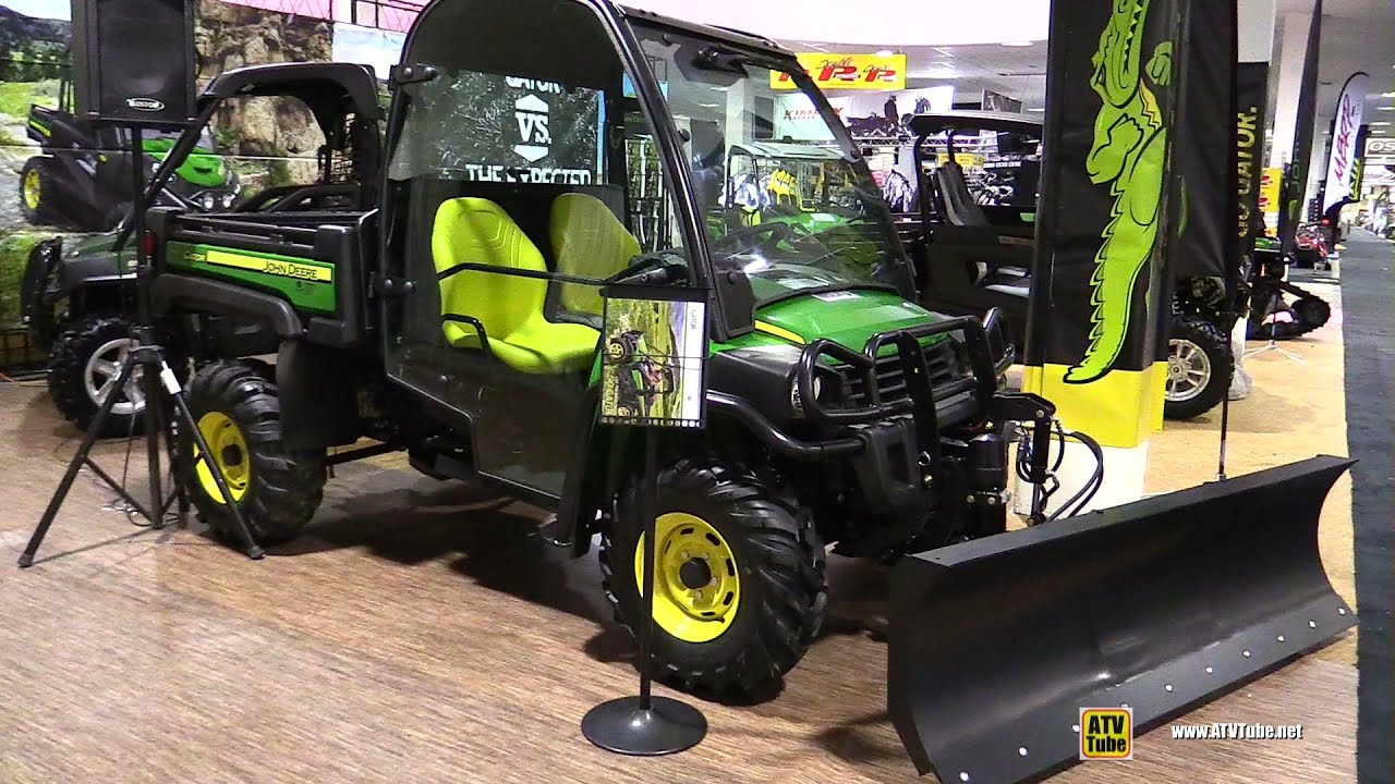 2016 john deere gator xuv 825i utility atv walkaround 2015 toronto snowmobile atv show. Black Bedroom Furniture Sets. Home Design Ideas