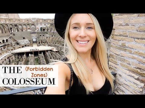 TRAVEL DIARY: FORBIDDEN ZONES OF THE COLOSSEUM