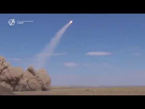 """New rocket launches from the modernized S-125 """"Pechora"""" in Ukraine"""