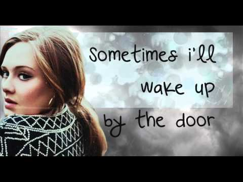 Adele-Set Fire To The Rain Lyrics
