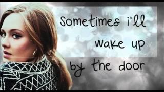 Adele-Set Fire To The Rain Lyrics