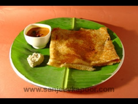 Rawa semolina dosa recipe by master chef sanjeev kapoor youtube forumfinder Gallery