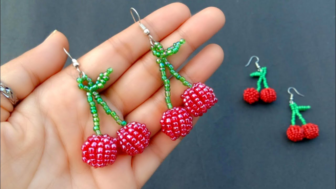 19++ Cherry beads for jewelry making information