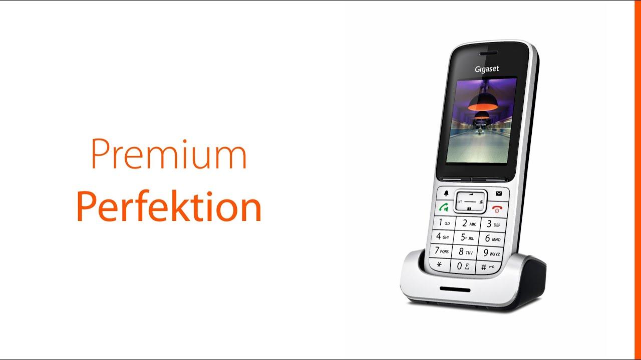 das neue gigaset sl450 schnurlos telefon das perfekte premium telefon f r zuhause youtube. Black Bedroom Furniture Sets. Home Design Ideas