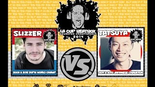 SLIZZER (LUX) vs TATSUYA (JPN)   La Cup 14'   1/8 Final thumbnail