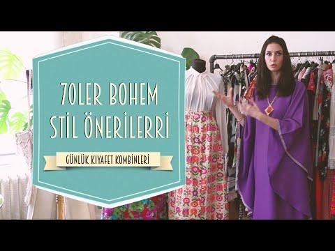 Günlük Kıyafet Kombinleri - 70ler Bohem Stil Önerileri | Ahu Yağtu
