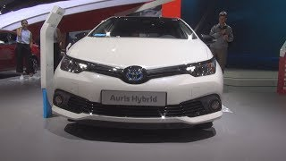 Toyota Auris Hybrid Style Selection (2018) Exterior and Interior