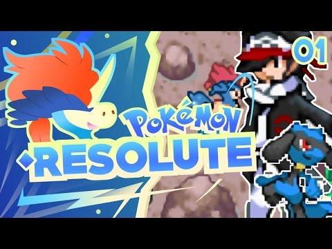 Pokemon Resolute Rom Hack Part 1 GEN 7 POKEMON! Gameplay Walkthrough