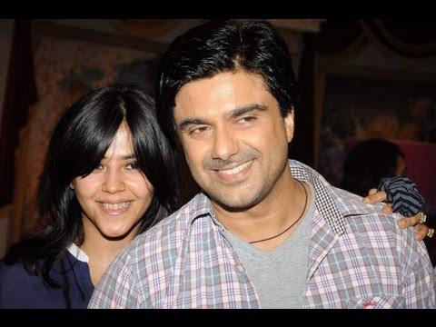 Sameer Soni And Ekta Kapoor For TV Show Parichay