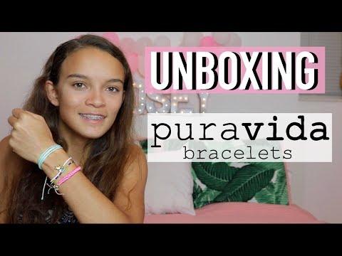 Unboxing Pura Vida Bracelets | LindseyLovesLife