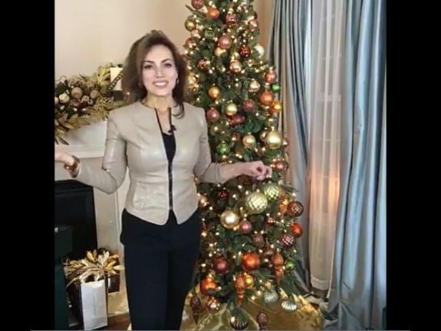 Lisa Robertson Christmas Trees 2021 Decorating With Lisa Robertson The Living Room Christmas Tree Youtube