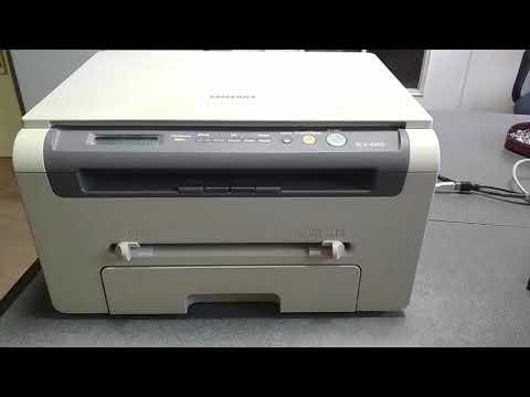 Samsung 4200 как узнать пробег принтера (сколько страниц напечатал принтер)