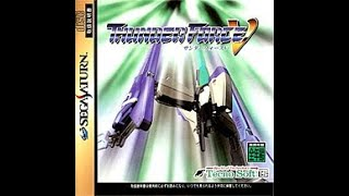 Thunder Force V 5 HD (Progressive) Sega Saturn Full Run Good Ending
