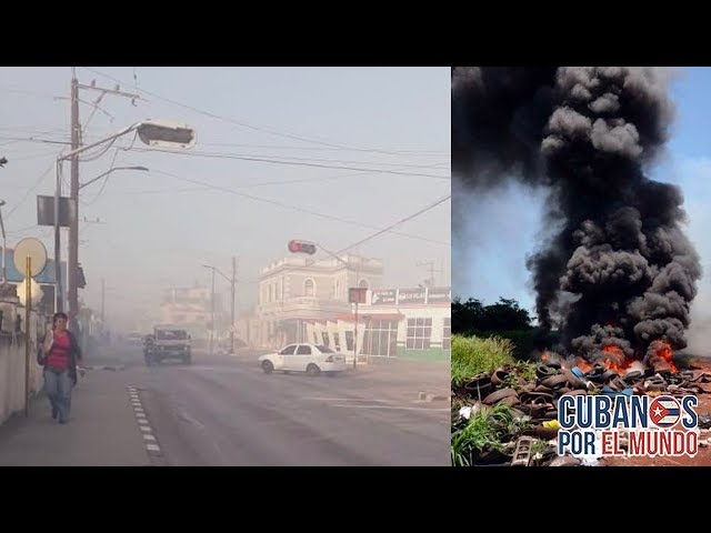 Santaclareños se ahoga en humo por quema de basura - Cuba