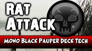 Video MTG Pauper Deck Tech - Mono Black Rat Attack download MP3, 3GP, MP4, WEBM, AVI, FLV September 2018