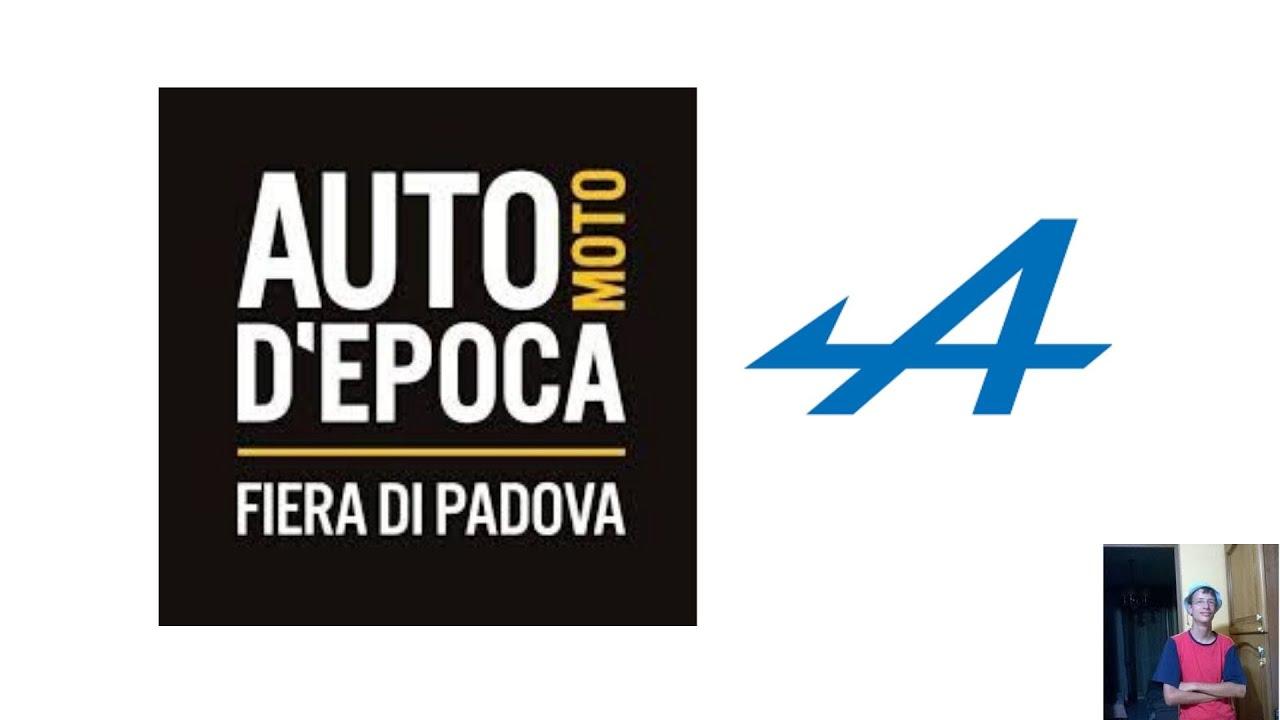 Porta Tv Auto.Auto Moto D Epoca Padova 2019 Alpine Porta La A110s