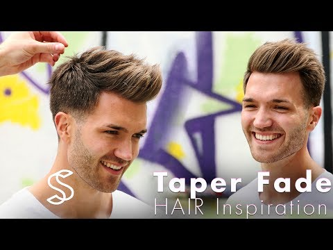 Taper fade and texture  - Barber haircut - Mens hairstyle inspiration
