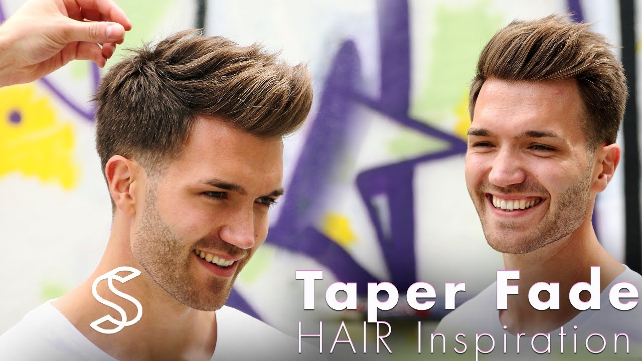 taper fade and texture - barber