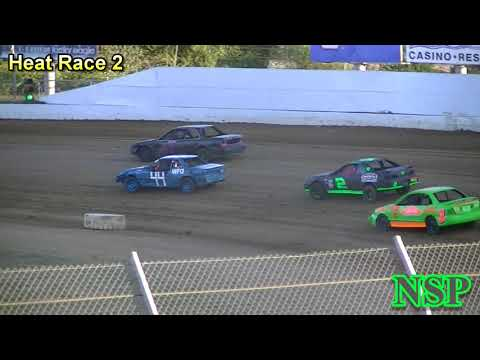 August 24, 2019 Outlaw Tuners Heat Races 1 & 2 Grays Harbor Raceway