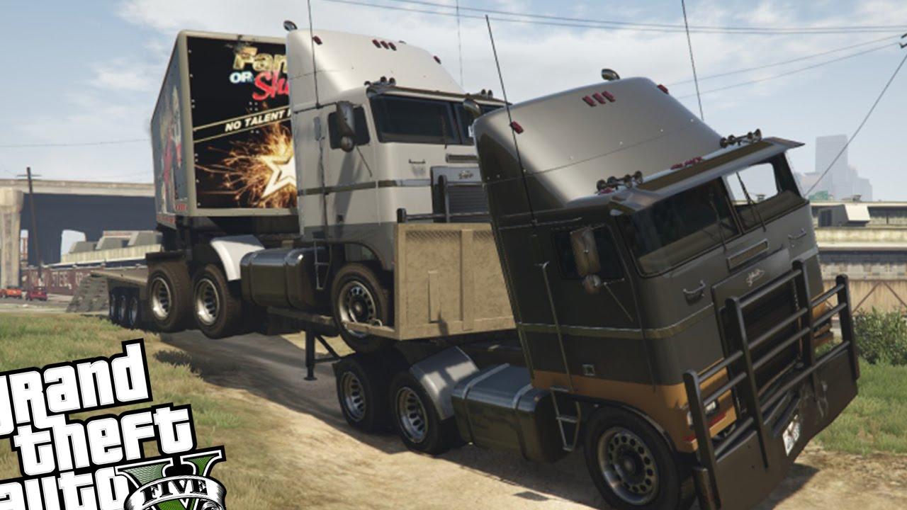 Gta 5 Truck And Trailer | www.pixshark.com - Images ...