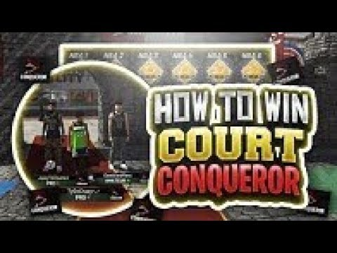 HOW TO WIN COURT CONQUERER IN NBA 2K19!!!! BEST METHOD AGAINST 99 OVERALL DEMIGODS!!
