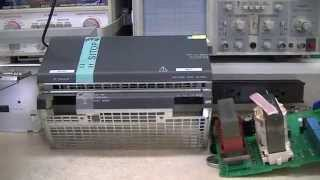 Siemens SITOP 40 Power Supply Quick Damage Assessment