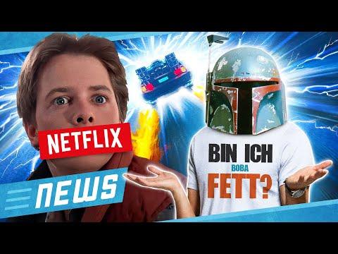 Mandalorian Fans rätseln um Boba Fett Theorie & Netflix ändert Zurück in die Zukunft - FLIPPS News