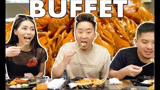 THE BEST BUFFET IN ASIA! (Hong Kong's Market) // Fung Bros
