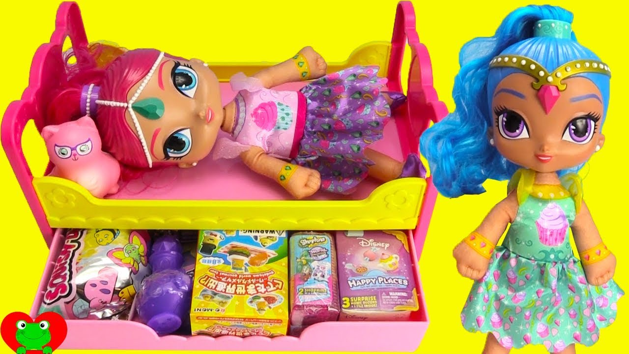 ff48511bbe8 Shimmer and Shine Night Time Slumber Party Surprises - YouTube