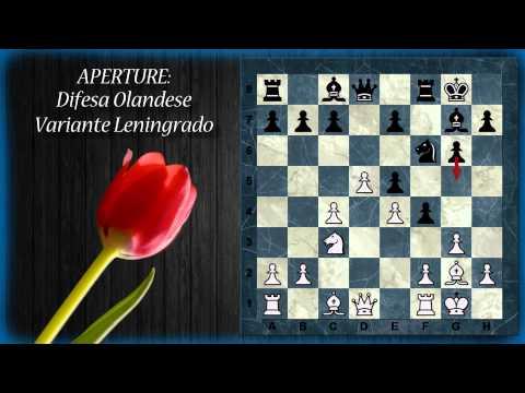 Aperture di Scacchi 25 - Difesa Olandese - Classica, Gambetto Staunton, Leningrado