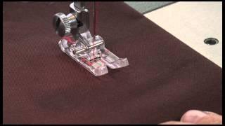 SINGER® 4-Step Manual Buttonhole Presser Foot Tutorial