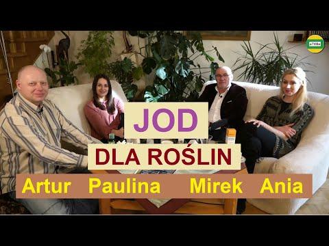 NIESAMOWITY WPŁYW JODU RÓWNIEŻ NA ROŚLINY Mirosław Surma Ania i Paulina STUDIO 2021