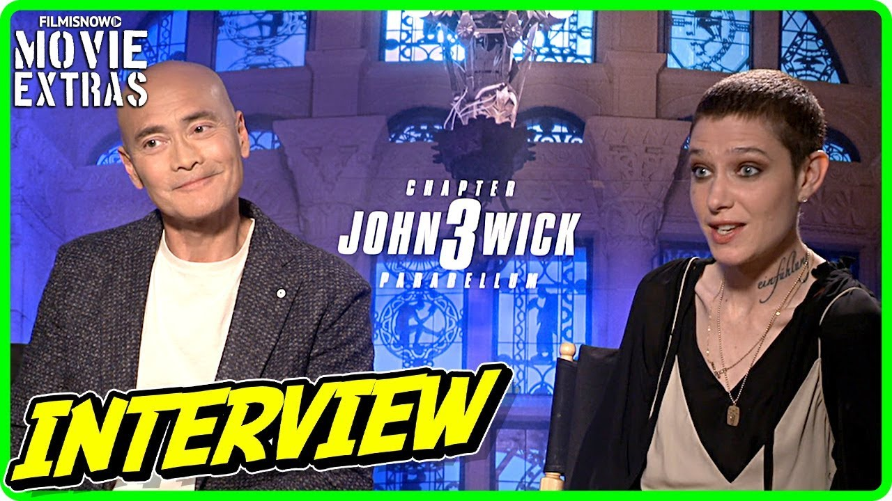 JOHN WICK: CHAPTER 3 PARABELLUM | Mark Dacascos & Asia Kate Dillon talk about the movie