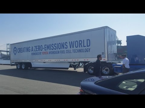 Zero-emission Hydrogen-Fuel Trucks Are Hitting The Roads in Los Angeles This Month