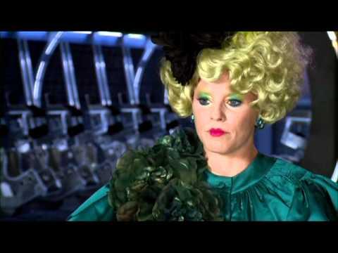 """The Hunger Games - Elizabeth Banks - """"Effie Trinket"""" - YouTube  The Hunger Game..."""