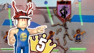 STEPH CURRY IN ROBLOX??? LEGEND 5 SG SHOOTER!!! **Green Giant**