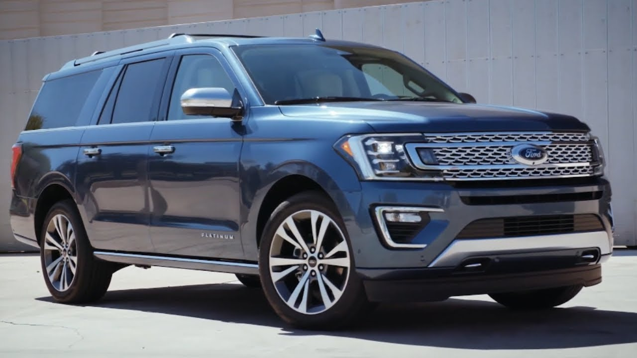 2020 Ford Expedition Platinum Suv Introduce Youtube