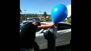 Triple Balloon POP!!! (Very Funny & LOUD)