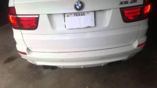 BMW X5 M Start-Up with Custom Exhaust