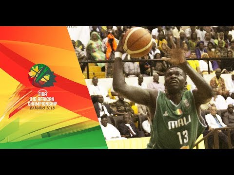 Tunisia v Mali - Quarter-Finals - Full Game - FIBA U18 African Championship 2018
