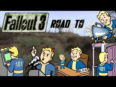 FALLOUT 3 Road To Platinum - Trouble On Homefront, Vault-Tec CEO, Data Miner, Silver Tongued Devil