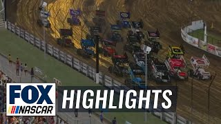 World of Outlaws iRacing Series at Knoxville   NASCAR ON FOX HIGHLIGHTS