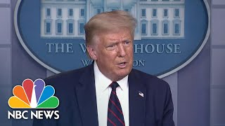 Trump Suggests Election Be Postponed, Congress Disagrees | NBC Nightly News