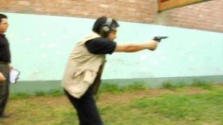 II Concurso de Tiro Defensivo con Revolver .38 SPL Parte I HD