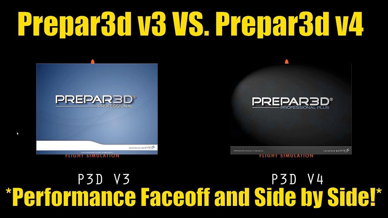 P3d v3 VS  P3d v4 *Performance Side by Side and Stress Test*